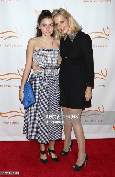 Elliott Anastasia Stephanopoulos and actress Ali Wentworth attend the 2017 A Funny Thing Happened on the Way to Cure Parkinson's event at the Hilton...