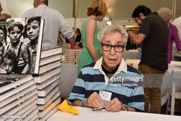 Elliott Erwitt attends Authors Night At East Hampton Library on August 11, 2018 in East Hampton, New York.