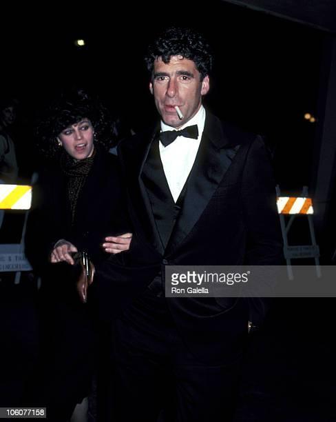 Elliott Gould and Jennifer Bogart during 1982 American Movie Awards at Hollywood Palladium in Hollywood California United States