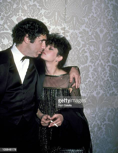 Elliott Gould and Jennifer Bogart during 39th Annual Golden Globe Awards at Beverly Hilton Hotel in Beverly Hills California United States