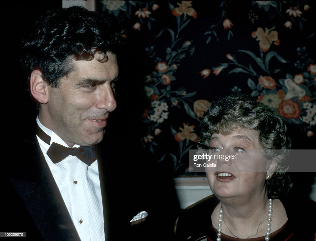 Elliott Gould and Shelley Winters during Opening Celebration of the 3rd Annual Israeli Film Festival at Waldorf Astoria Hotel in New York, NY, United States.