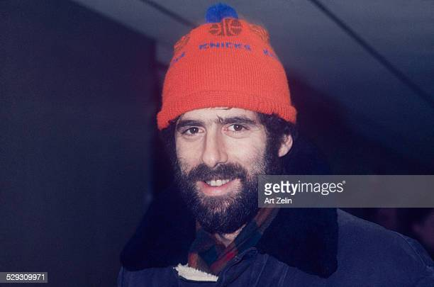 Elliott Gould wearing a Kincks hat circa 1970 New York