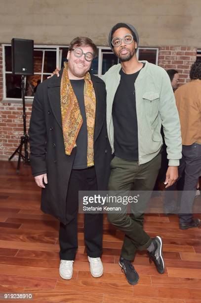 Elliott Hundley and Alphaeus Taylor attend Mr Chow 50 Years on February 16 2018 in Vernon California