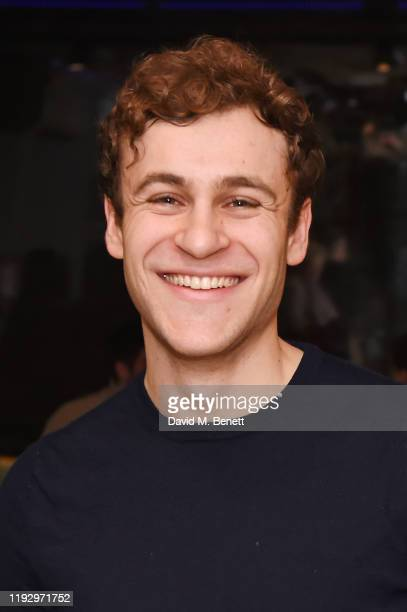 Elliott Ross attends the press night after party for Shackleton And His Stowaway at The Park Theatre on January 10 2020 in London England