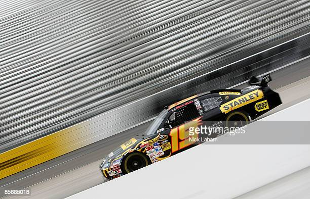 Elliott Sadler driver of the Stanley Tools Dodge during practice for the NASCAR Sprint Cup Series Goody�s Fast Pain Relief 500 at the Martinsville...