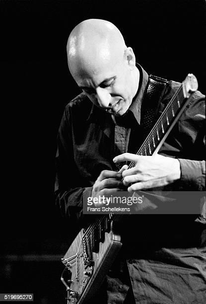 Elliott Sharpe, guitar, performs on June 2nd 1997 at the BIM huis in Amsterdam, Netherlands.