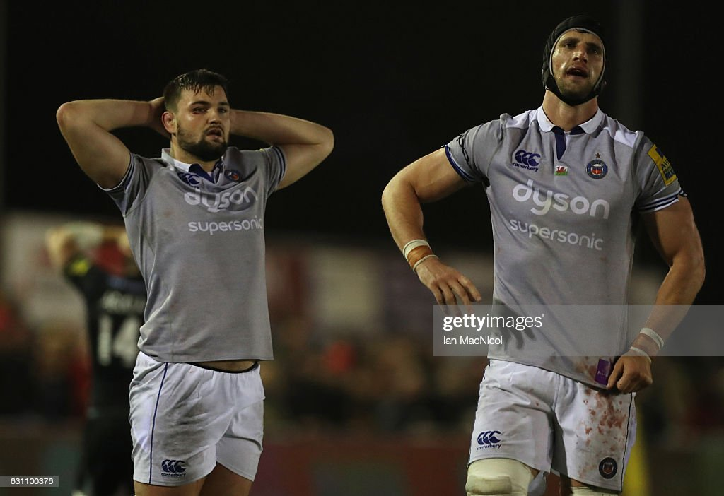 Newcastle Falcons v Bath Rugby - Aviva Premiership : Nachrichtenfoto