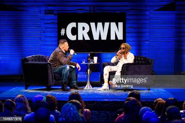 Elliott Wilson interviews Lil Wayne at House of Blues on October 3 2018 in New Orleans Louisiana
