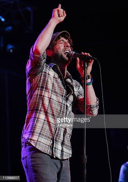 Elliott Yamin performs during the Y100 Jingle Ball concert December 15 2007 at the Bank Atlantic Center in Sunrise Florida