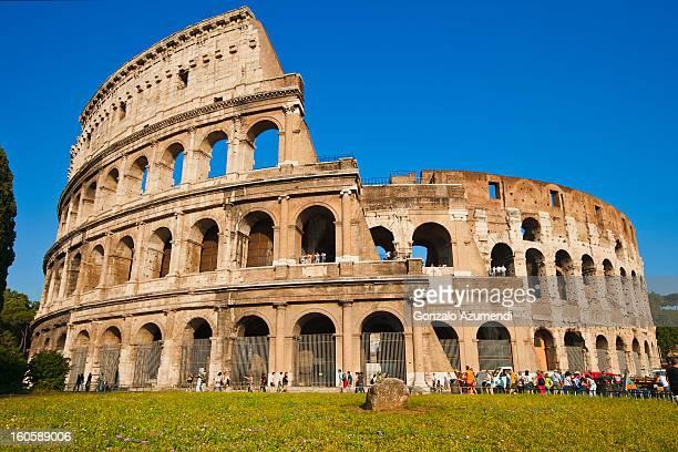Elliptical Amphitheatre of Roman Empire.