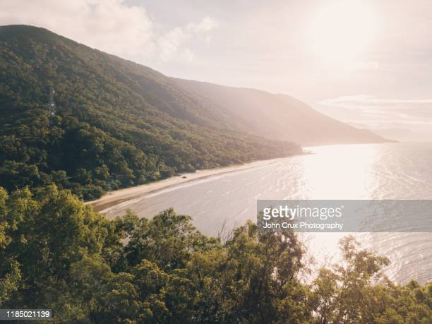 ellis beach cairns - cairns stock pictures, royalty-free photos & images