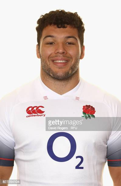 Ellis Genge of England poses for a portrait at The Lensbury on August 5 2017 in Teddington England