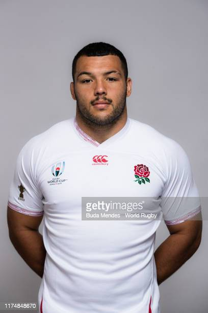 Ellis Genge of England poses for a portrait during the England Rugby World Cup 2019 squad photo call on September 15, 2019 in Miyazaki, Japan.