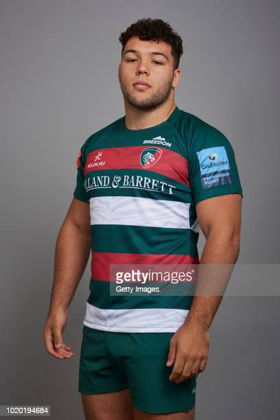 Ellis Genge of Leicester Tigers poses for a portrait during the Leicester Tigers squad photo call for the 201819 Gallagher Premiership Rugby season...