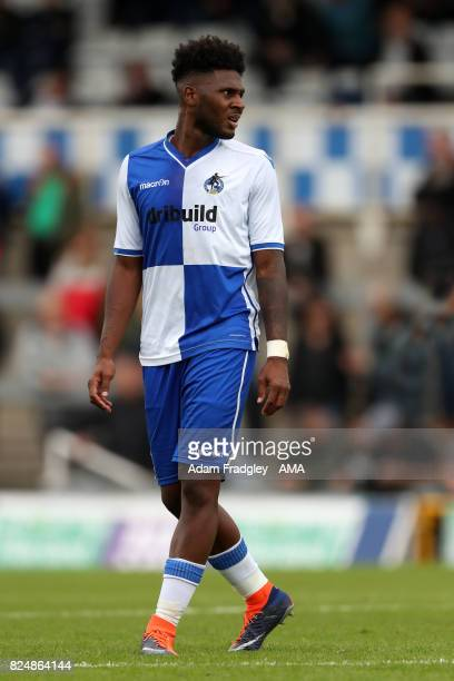 Ellis Harrison of Bristol Rovers during the Pre Season Friendly match between Bristol Rovers and West Bromwich Albion at Memorial Stadium on July 29...