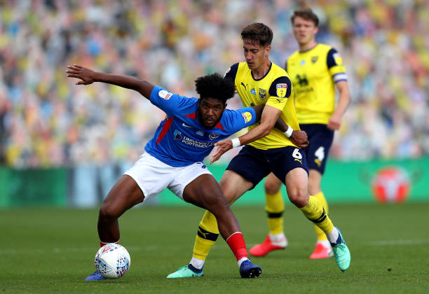 GBR: Oxford United v Portsmouth FC - Sky Bet League One Play Off Semi-final 2nd Leg