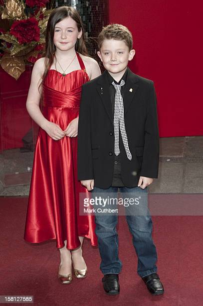 Ellis Hollins And Lydia Waters Arriving For The 2009 British Soap Awards At The Bbc Television Centre Wood Lane London