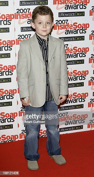 Ellis Hollins At The Inside Soap Awards 2007 Gilgamesh The Stables Chalk Farm Road Camden London Nw1