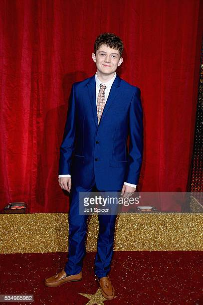 Ellis Hollins attends the British Soap Awards 2016 at Hackney Empire on May 28 2016 in London England