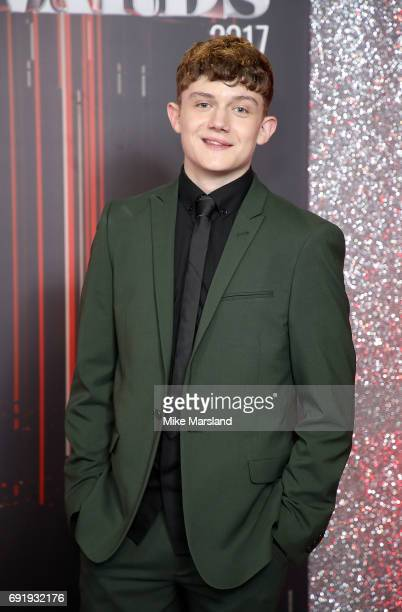 Ellis Hollins attends The British Soap Awards at The Lowry Theatre on June 3 2017 in Manchester England The British Soap Awards will be aired on June...