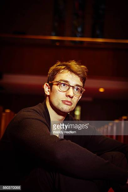 Ellis LudwigLeone of San Fermin poses for a portrait at the Central Presbyterian Church on March 21st 2015 in Austin Texas United States
