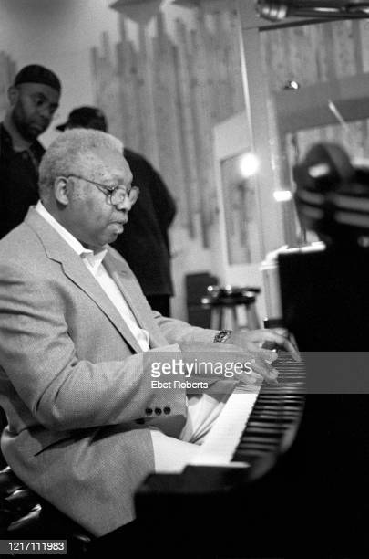 Ellis Marsalis at a Jeff Watts recording session at Systems Two Studios in New York City on June 2 1998