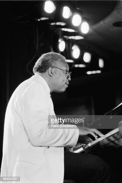 Ellis Marsalis piano performs at the North Sea Jazz Festival in the Hague the Netherlands on 13 July 1990