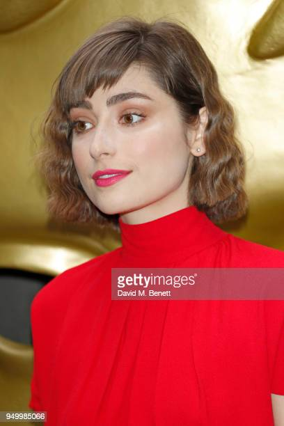 Ellise Chappell arrives at the British Academy Television Craft Awards held at The Brewery on April 22 2018 in London England