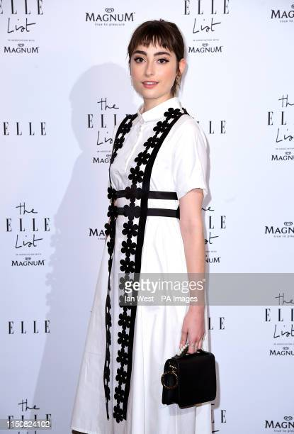 Ellise Chappell attending the ELLE List VIP Party at The Petersham London