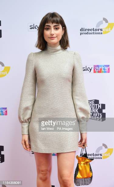 Ellise Chappell attending the South Bank Sky Arts Awards at the Savoy Hotel in London