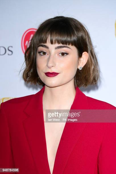 Ellise Chappell attending the Virgin British Academy Television and Craft Nominations Party held at Mondrian London at Sea Containers London PRESS...