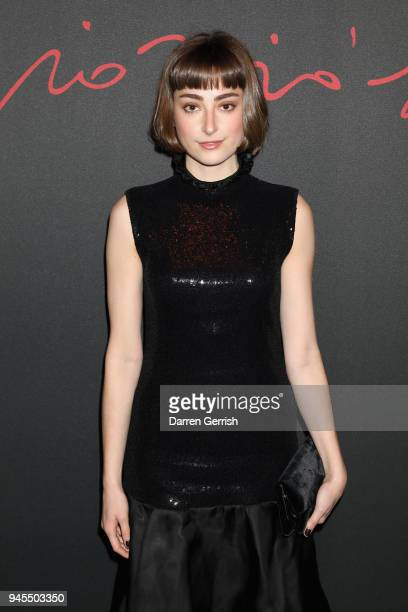 Ellise Chappell attends as Giorgio Armani hosts trunk show at the Giorgio's London event to celebrate the opening of the new Giorgio Armani and...
