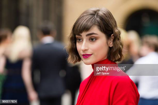 Ellise Chappell attends the BAFTA TV Awards held at The Brewery on April 22 2018 in London England