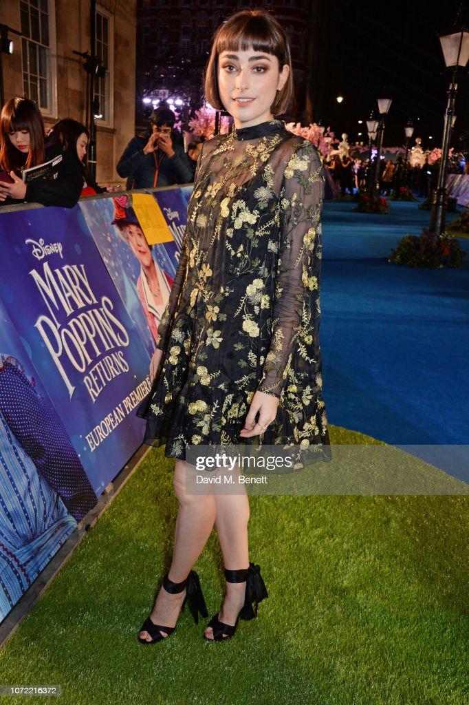"""Mary Poppins Returns"" - European Premiere - VIP Arrivals : News Photo"