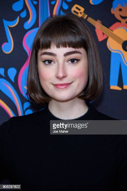 Ellise Chappell attends the gala screening of Disney Pixar's 'COCO' held at One Marylebone on January 15 2018 in London England