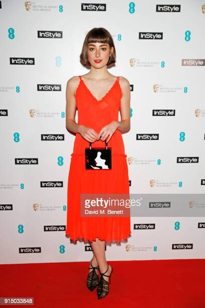 Ellise Chappell attends the InStyle EE Rising Star Party Ahead Of The EE BAFTAs at Granary Square on February 6 2018 in London England