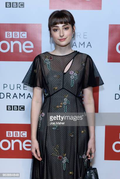 Ellise Chappell attends the Poldark Series 4 premiere at BFI Southbank on May 2 2018 in London England