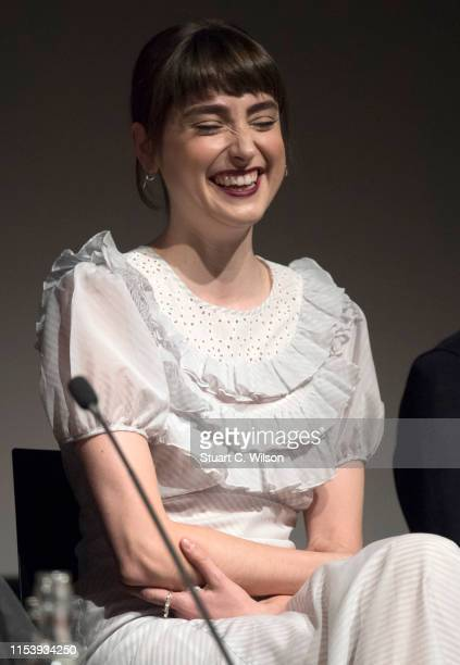 Ellise Chappell attends the series premiere followed by a QA session for Poldark at BFI Southbank on June 05 2019 in London England