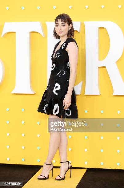 Ellise Chappell attends the UK Premiere of Yesterday at Odeon Luxe Leicester Square on June 18 2019 in London England