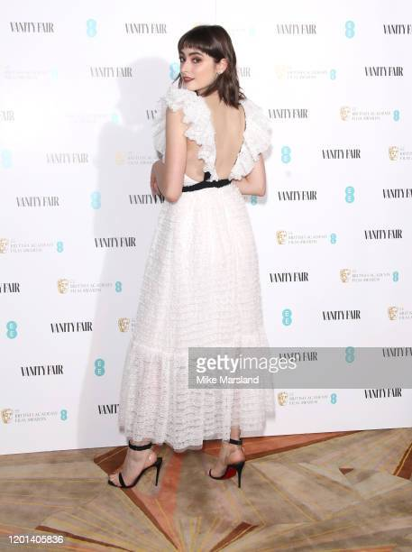 Ellise Chappell attends the Vanity Fair EE Rising Star BAFTAs Pre Party at The Standard on January 22 2020 in London England