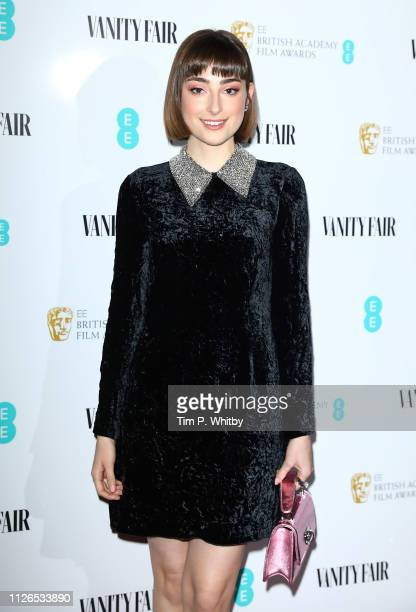 Ellise Chappell attends the Vanity Fair EE Rising Star Party at The Baptist on January 31 2019 in London England