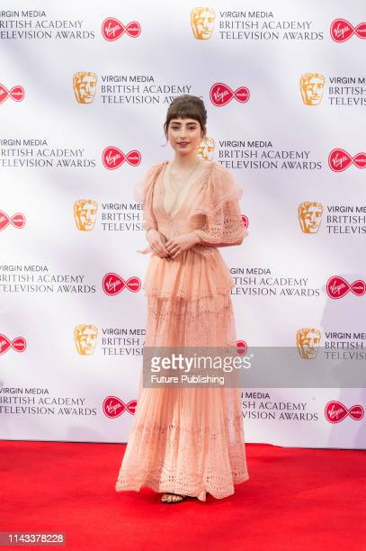 Ellise Chappell attends the Virgin Media British Academy Television Awards ceremony at the Royal Festival Hall on 12 May 2019 in London England