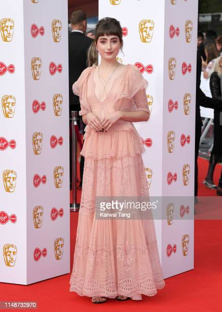 Ellise Chappell attends the Virgin Media British Academy Television Awards 2019 at The Royal Festival Hall on May 12 2019 in London England