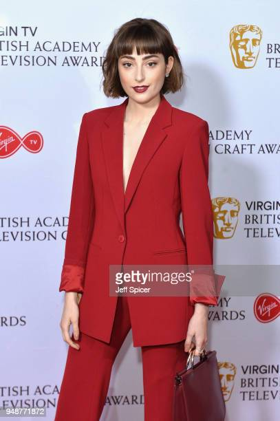 Ellise Chappell attends the Virgin TV BAFTA nominees' party at Mondrian London on April 19 2018 in London England