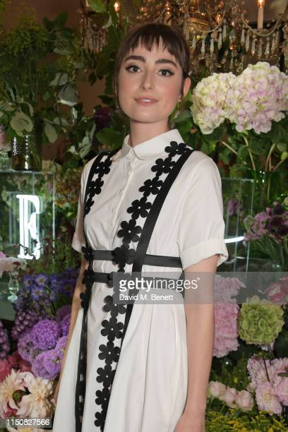 Ellise Chappell celebrates The ELLE List in association with MAGNUM ice cream on June 19 2019 in London England