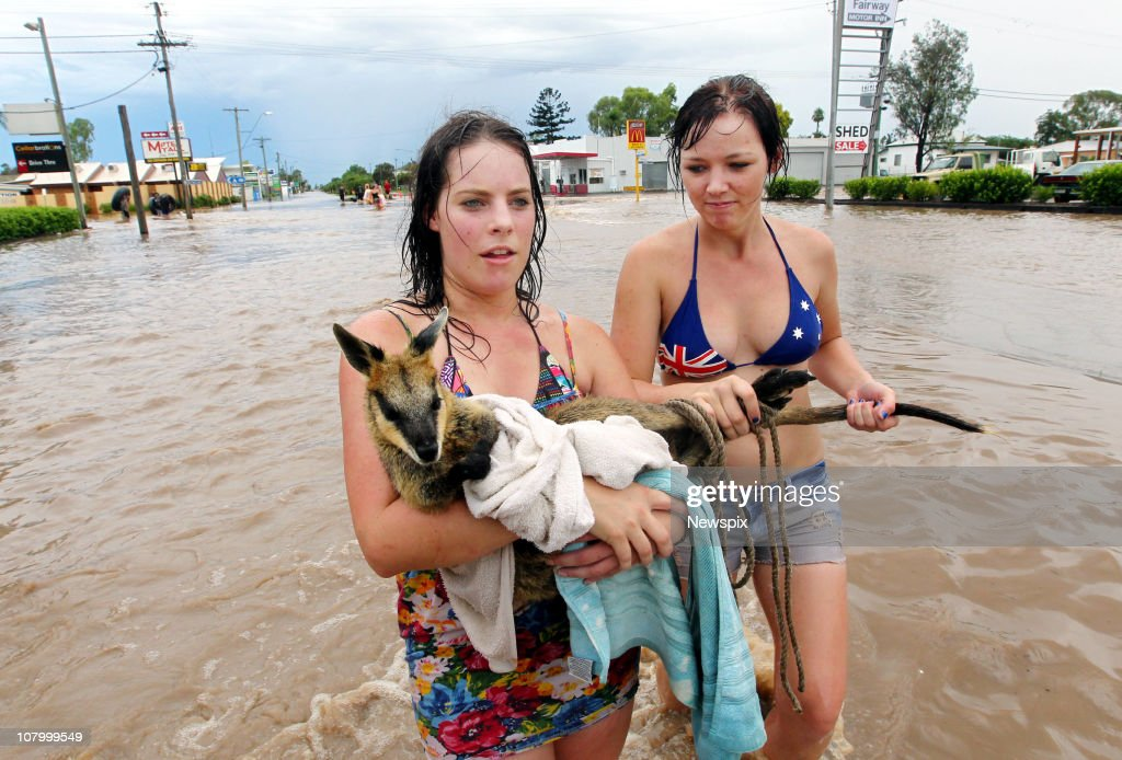 Brisbane Floods Worsen as Queensland Death Toll Climbs : Foto jornalística