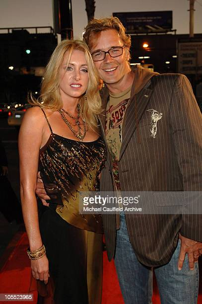 Elly Castle and husband John Schneider during Warner Bros Pictures' North Country Los Angeles Premiere Red Carpet at Grauman's Chinese Theatre in Los...