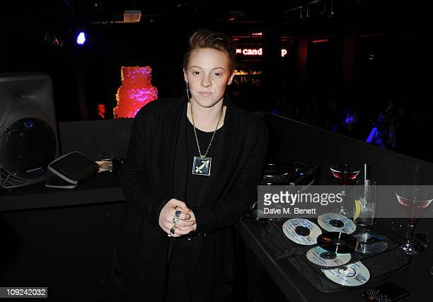 Elly Jackson aka La Roux attends the private view of 'Eat The Designers' displaying 10 birthday cakes designed by 10 fashion houses to mark the 10th...