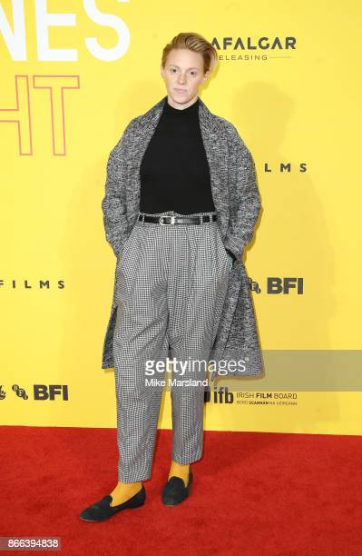 Elly Jackson attends the 'Grace Jones Bloodlight And Bami' UK premiere at BFI Southbank on October 25 2017 in London England