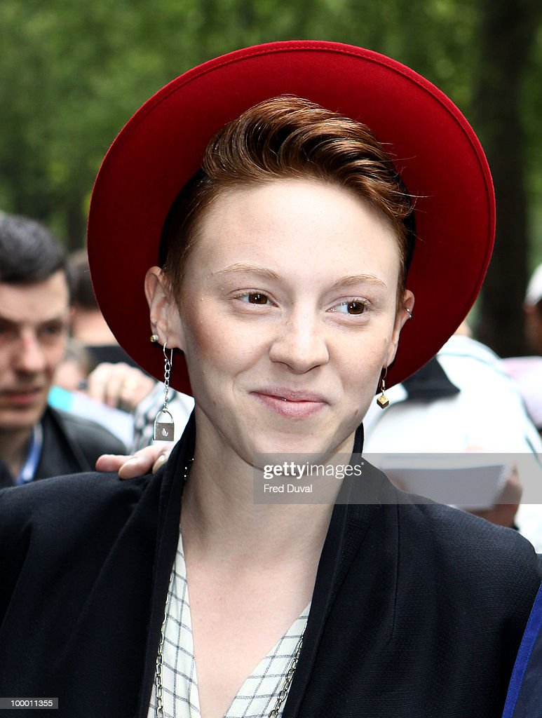 Elly Jackson attends the Ivor Novello Awards at Grosvenor House, on May 20, 2010 in London, England.